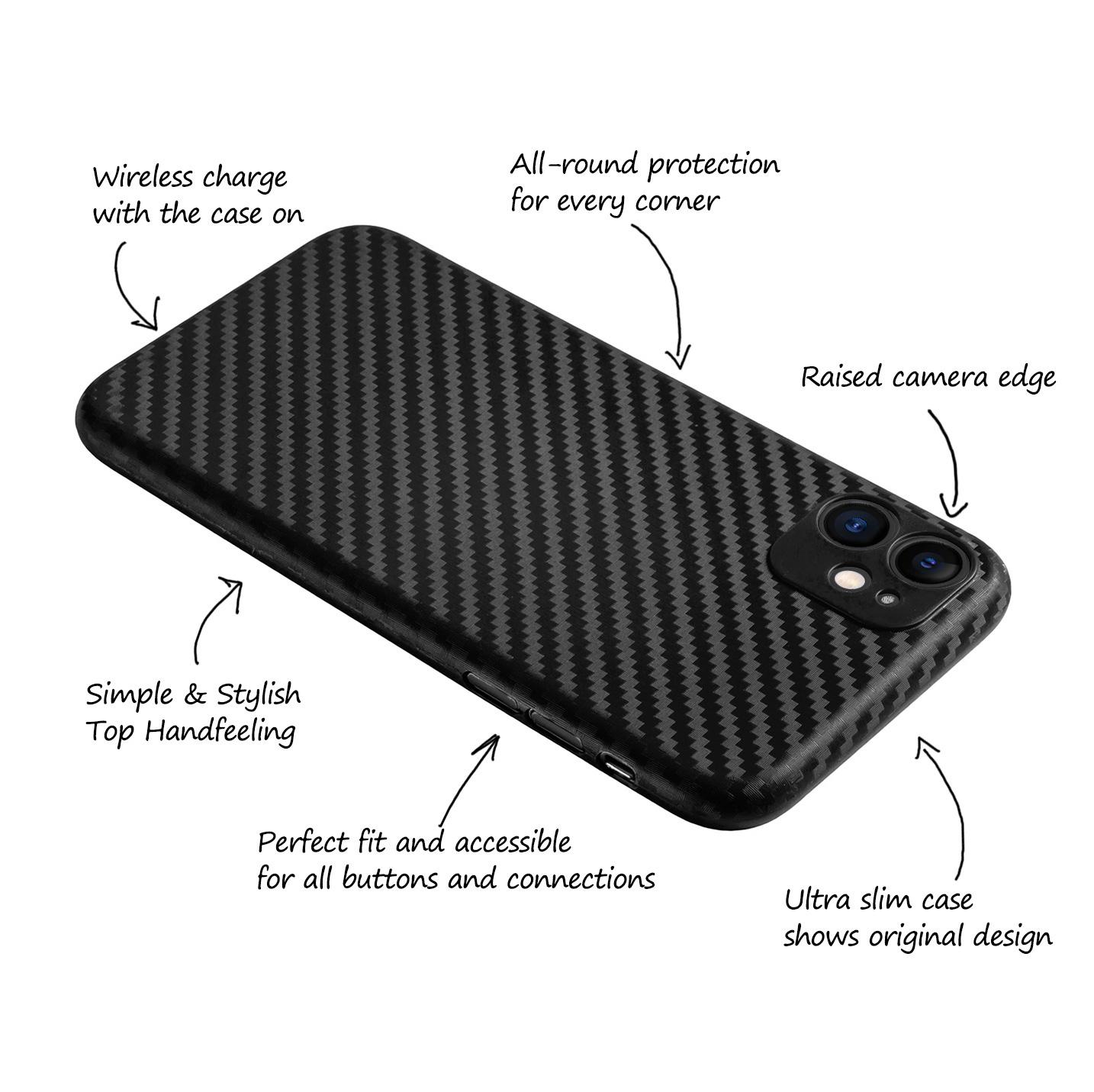 Ultra-Slim-Case-iPhone-11-6-1-034-Matt-Clear-Schutz-Huelle-Skin-Cover-Tasche-Folie Indexbild 10
