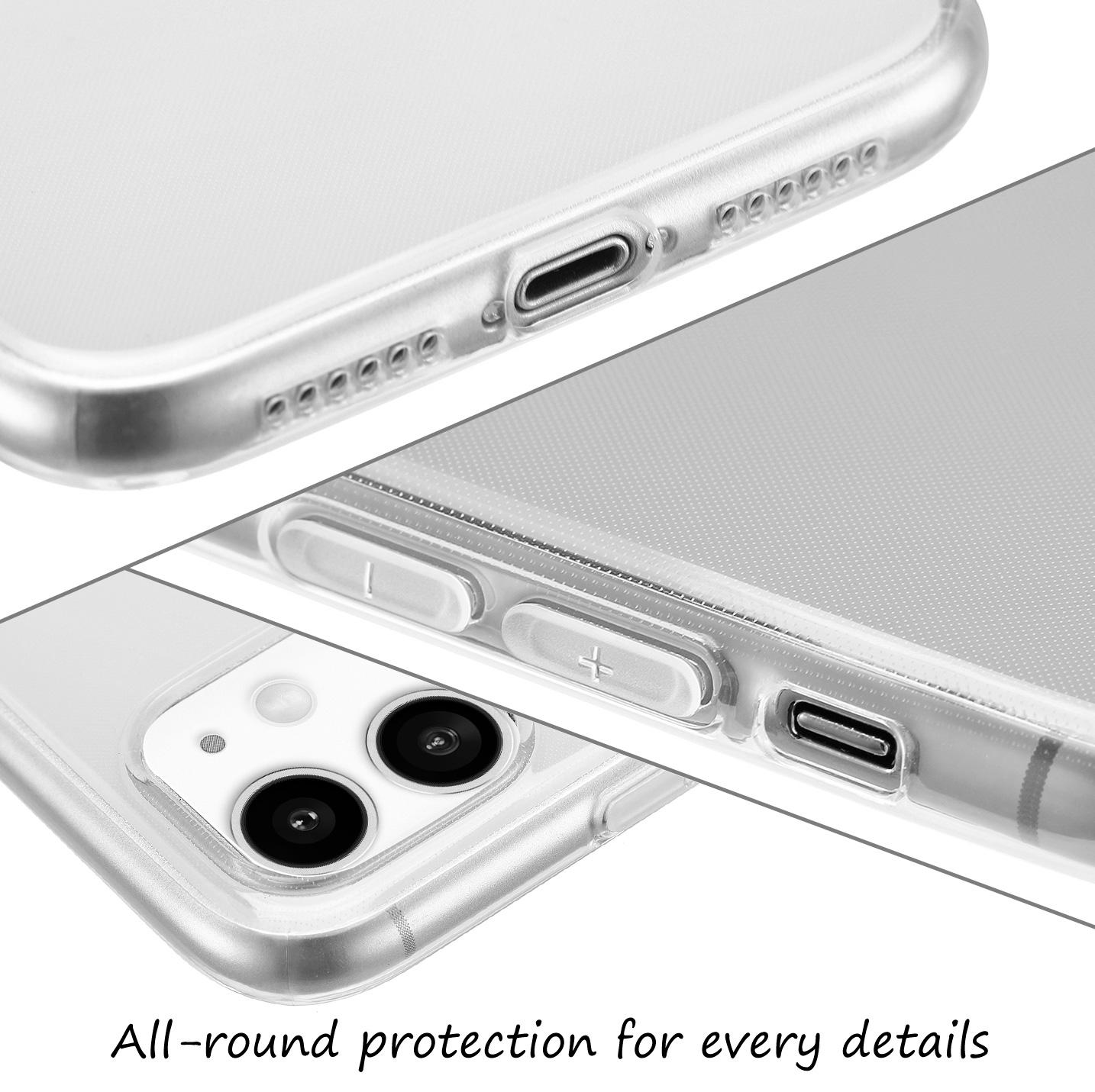 Ultra-Slim-Case-iPhone-11-6-1-034-Matt-Clear-Schutz-Huelle-Skin-Cover-Tasche-Folie Indexbild 52