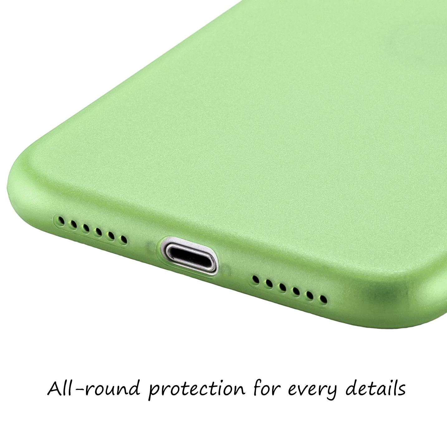 Ultra-Slim-Case-iPhone-11-6-1-034-Matt-Clear-Schutz-Huelle-Skin-Cover-Tasche-Folie Indexbild 32