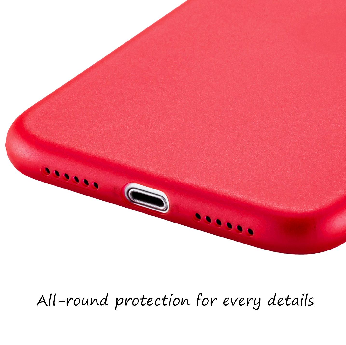Ultra-Slim-Case-iPhone-11-6-1-034-Matt-Clear-Schutz-Huelle-Skin-Cover-Tasche-Folie Indexbild 48