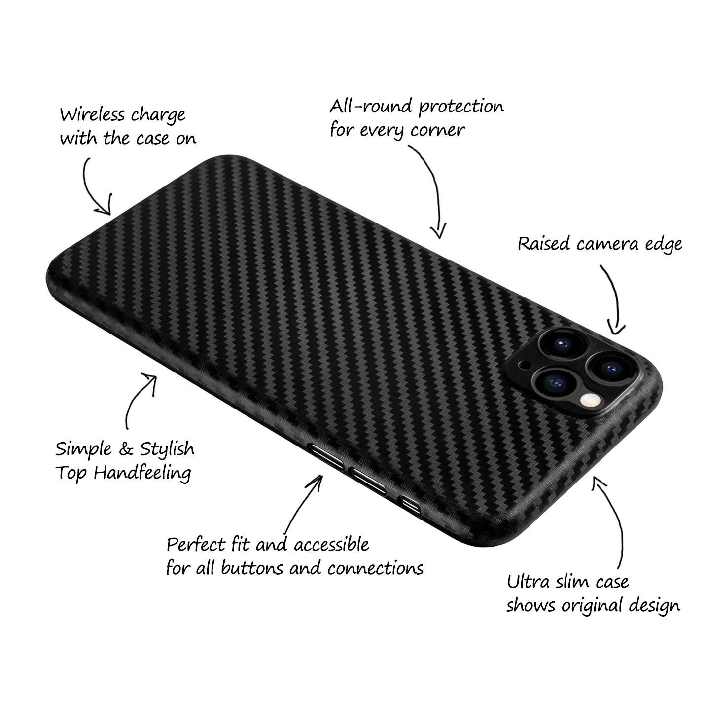 Ultra-Slim-Case-iPhone-11-Pro-5-8-034-Matt-Clear-Schutz-Huelle-Skin-Cover-Etui-Folie Indexbild 10