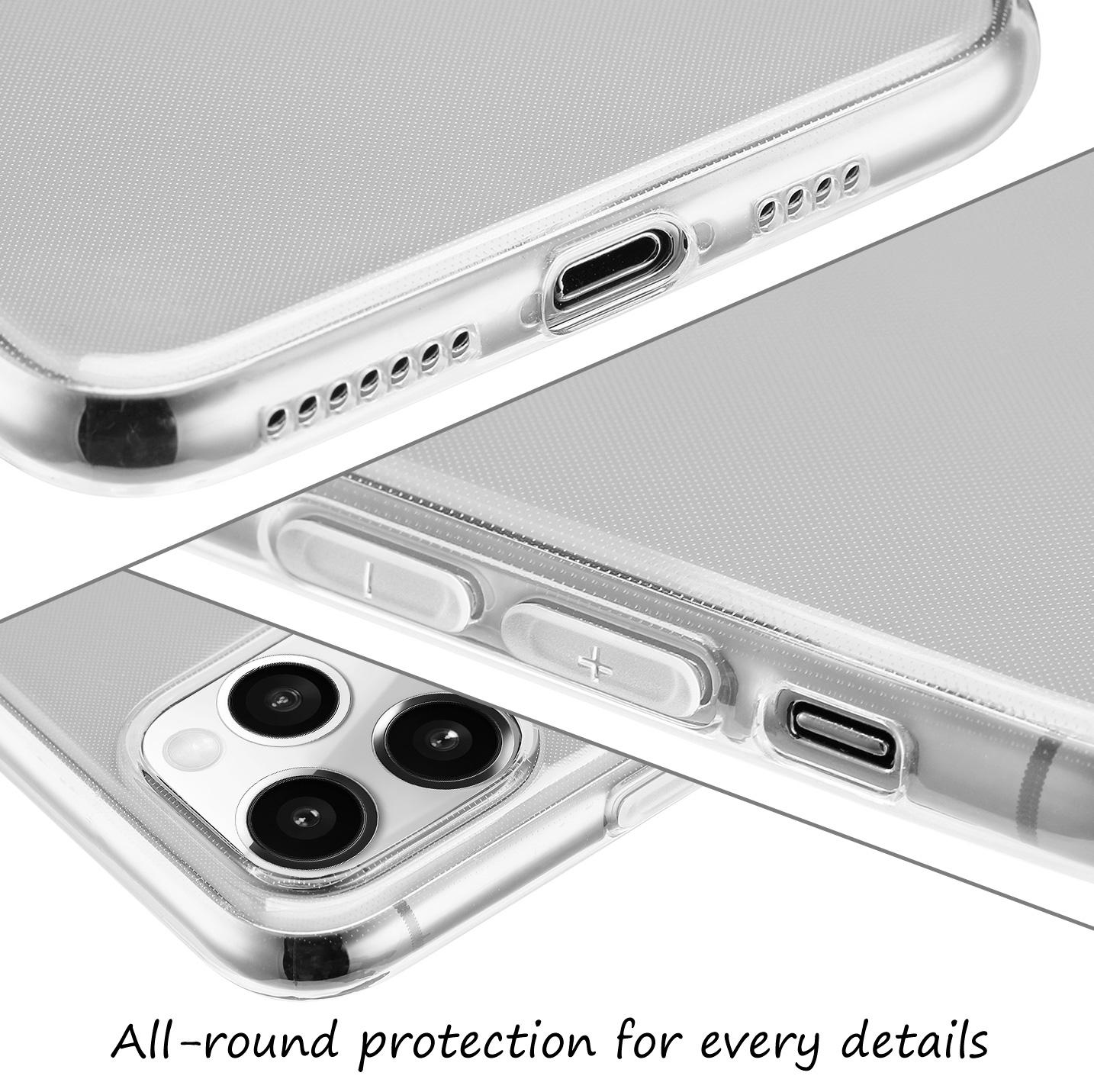 Ultra-Slim-Case-iPhone-11-Pro-5-8-034-Matt-Clear-Schutz-Huelle-Skin-Cover-Etui-Folie Indexbild 52