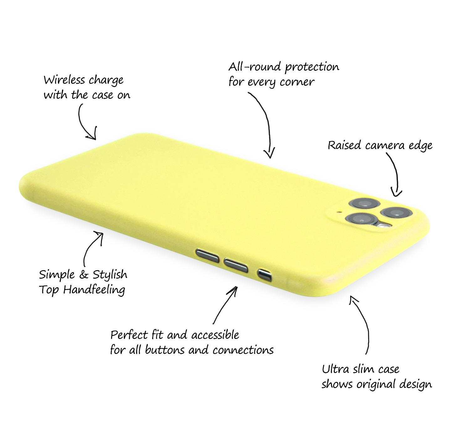 Ultra-Slim-Case-iPhone-11-Pro-5-8-034-Matt-Clear-Schutz-Huelle-Skin-Cover-Etui-Folie Indexbild 34