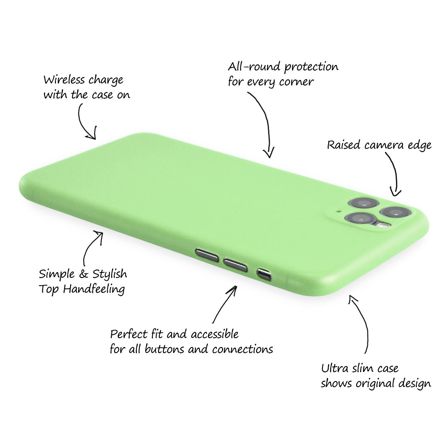 Ultra-Slim-Case-iPhone-11-Pro-5-8-034-Matt-Clear-Schutz-Huelle-Skin-Cover-Etui-Folie Indexbild 30
