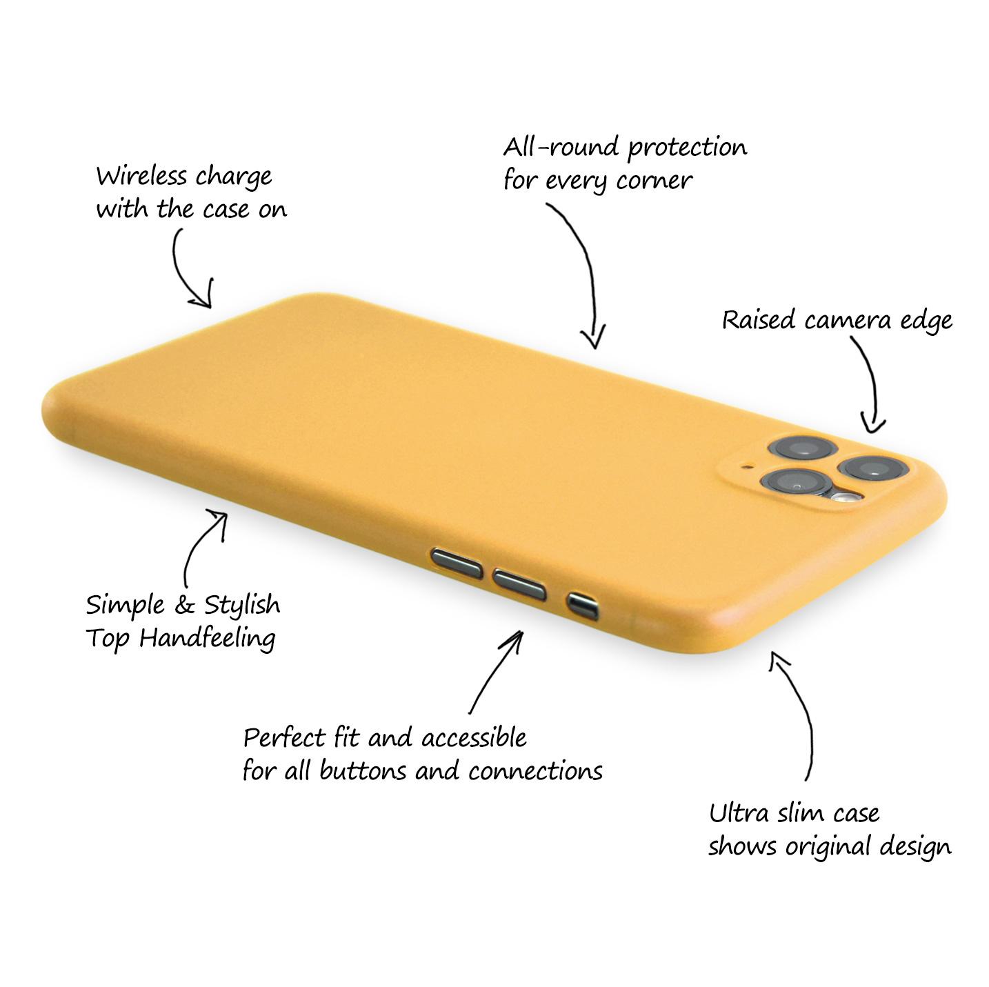 Ultra-Slim-Case-iPhone-11-Pro-5-8-034-Matt-Clear-Schutz-Huelle-Skin-Cover-Etui-Folie Indexbild 42