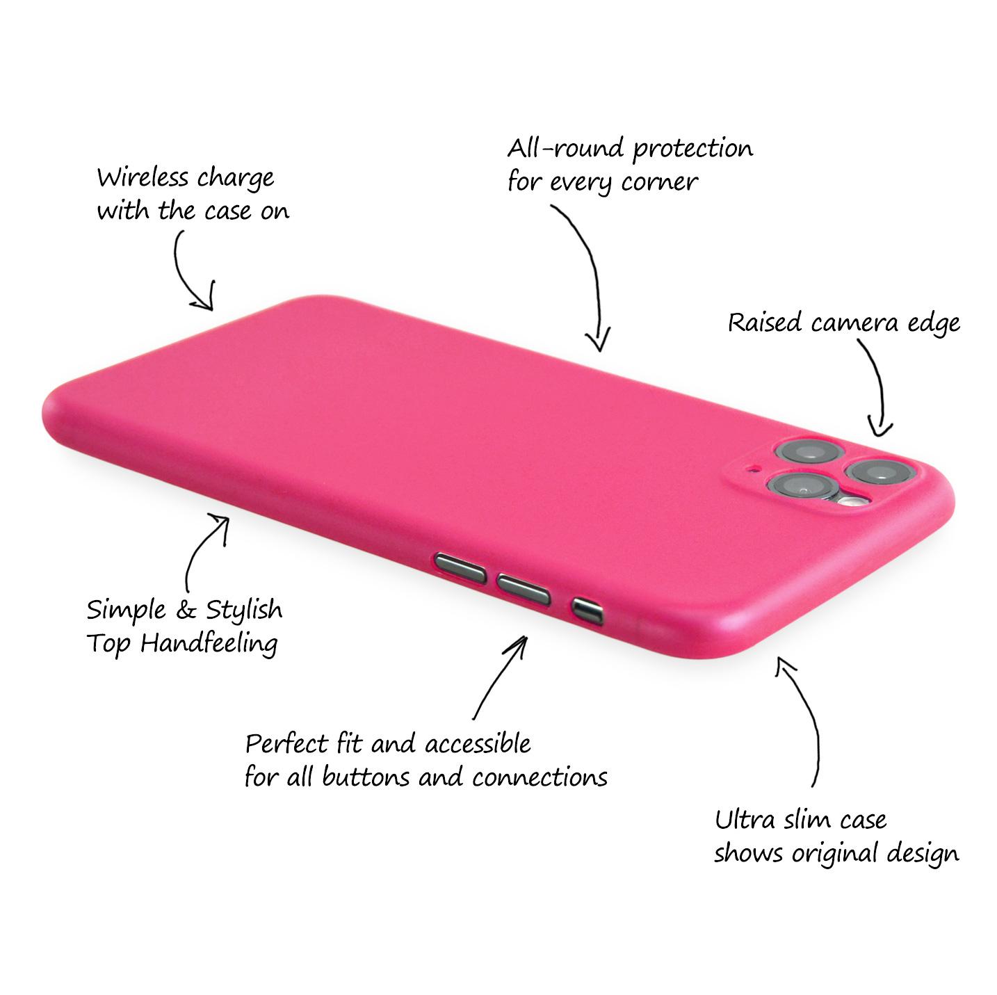 Ultra-Slim-Case-iPhone-11-Pro-5-8-034-Matt-Clear-Schutz-Huelle-Skin-Cover-Etui-Folie Indexbild 18