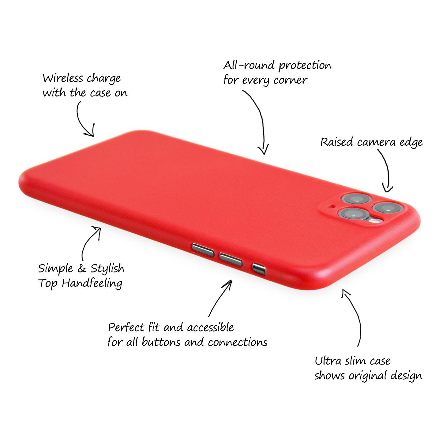 Ultra-Slim-Case-iPhone-11-Pro-5-8-034-Matt-Clear-Schutz-Huelle-Skin-Cover-Etui-Folie Indexbild 46