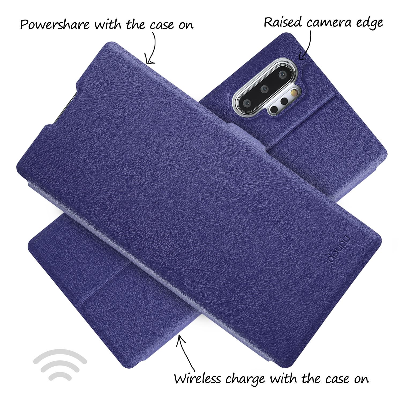Flip-Case-Samsung-Note-10-Plus-Magnet-Cover-Aufstellbar-Staender-Schutzhuelle-Etui Indexbild 21