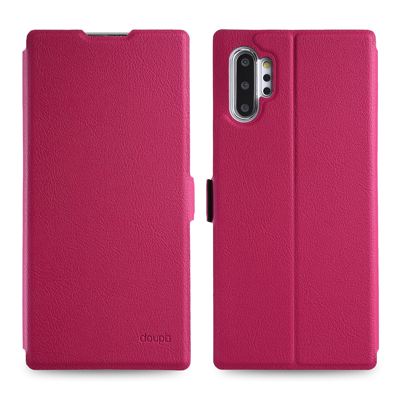 Flip-Case-Samsung-Note-10-Plus-Magnet-Cover-Aufstellbar-Staender-Schutzhuelle-Etui Indexbild 17