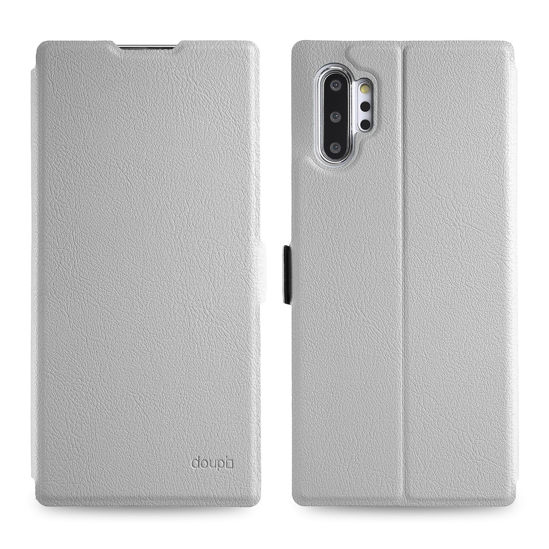 Flip-Case-Samsung-Note-10-Plus-Magnet-Cover-Aufstellbar-Staender-Schutzhuelle-Etui Indexbild 12