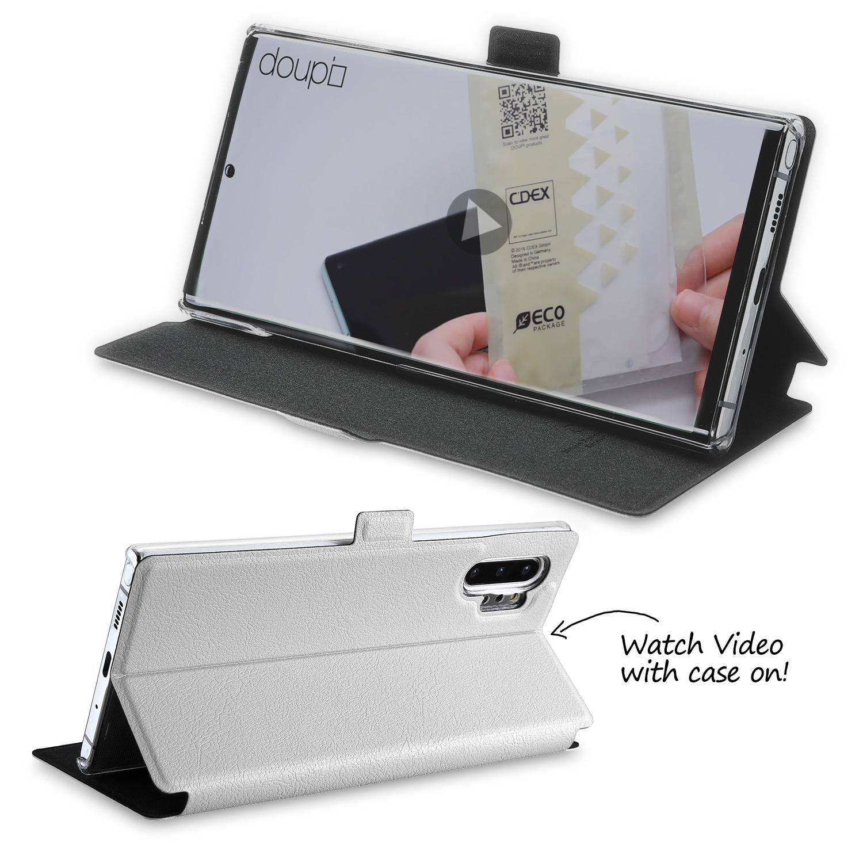 Flip-Case-Samsung-Note-10-Plus-Magnet-Cover-Aufstellbar-Staender-Schutzhuelle-Etui Indexbild 10